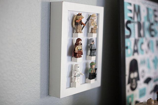 DIY LEGO Minifig Display — All for the Boys