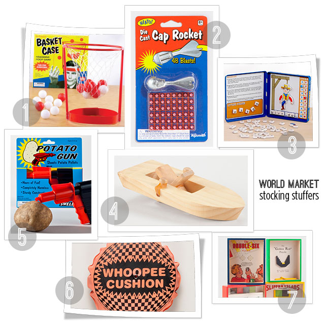 Unique Stocking Stuffers With World Market All For The Boys
